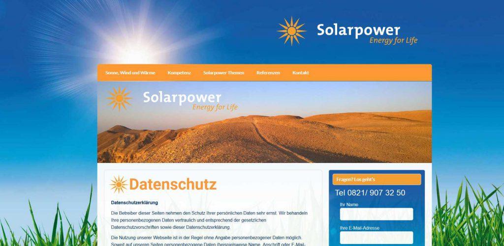 Solarpower Augsburg