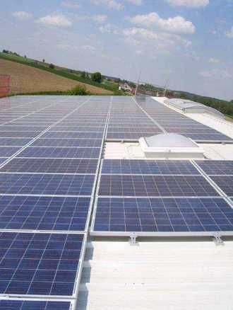 Solaranlage Isen