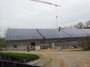 Solaranlage für Landwirte